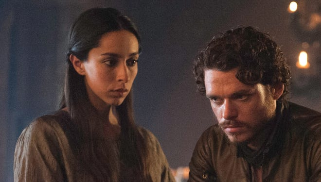 "Characters Talisa Maegyr (Oona Chaplin) and   Robb Stark (Richard Madden) don't have happy endings on ""Game of Thrones."""