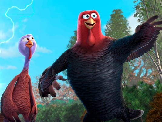 Sneak Peek:  Wilson and Harrelson as 'Free Birds'