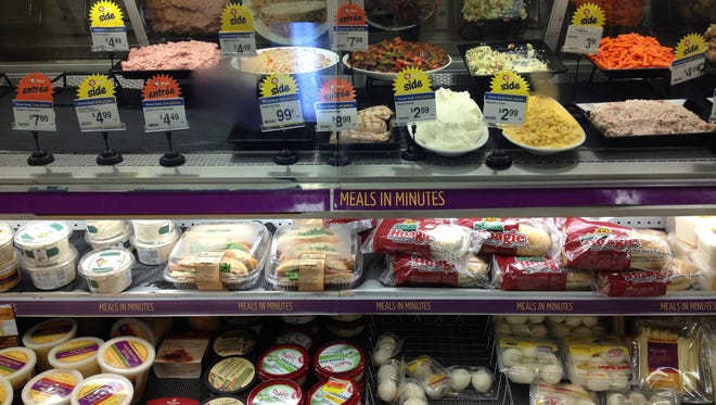 Calorie counts are increasingly common for items listed on fast-food restaurant menu boards. Now, shoppers may see them more frequently at grocery store deli counters, salad bars and bakeries. Grocers around the country, though - including Cincinnati-based Kroger Co. - are trying to convince the federal Food and Drug Administration to reconsider proposed rules that would expand the requirements for posting nutritional labels on prepared food items at stores.