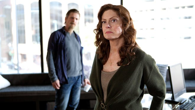 "Barry Pepper and Susan Sarandon in a scene from the motion picture ""Snitch."""