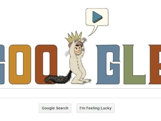 google doodle maurice sendak