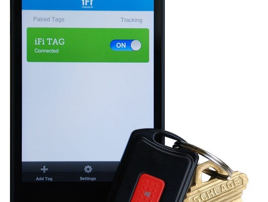 iPhone smart tag