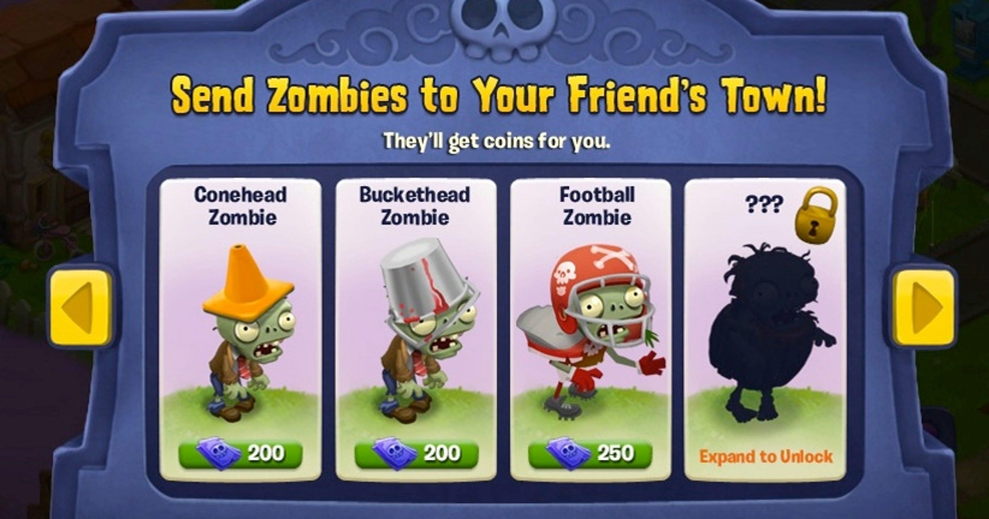 Plants vs  Zombies' invades Facebook