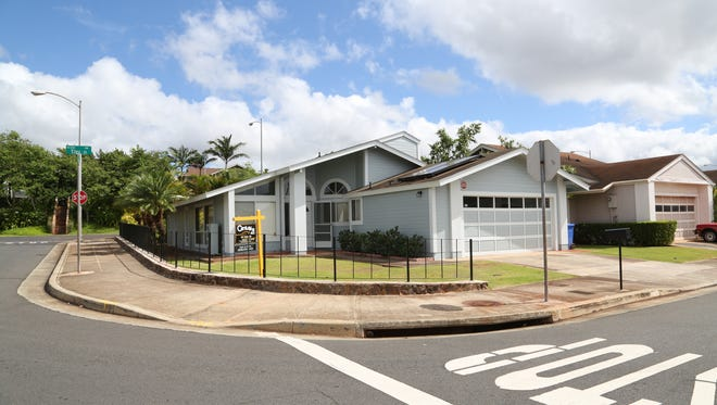 Edward Snowden's former residence in the Royal Kunia subdivision in Waipahu, Hawaii.