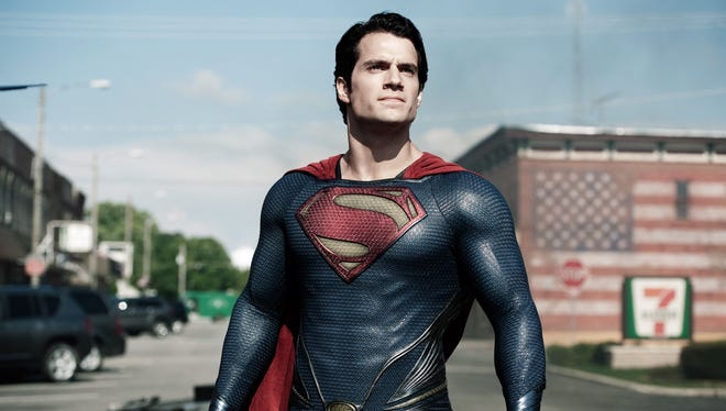Henry Cavill plays a persuasive Superman in 'Man of Steel.' Unfortunately the film suffers from director Zack Snyder's heavy reliance on spectacle.