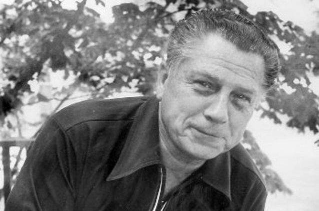 Photo of former Teamsters president Jimmy Hoffa taken  by photographer Tony Spina on July 24, 1975, days before his mysterious disappearance.