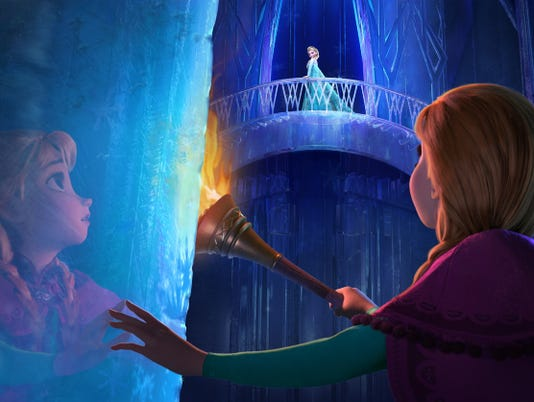 'Frozen': Elsa and Anna