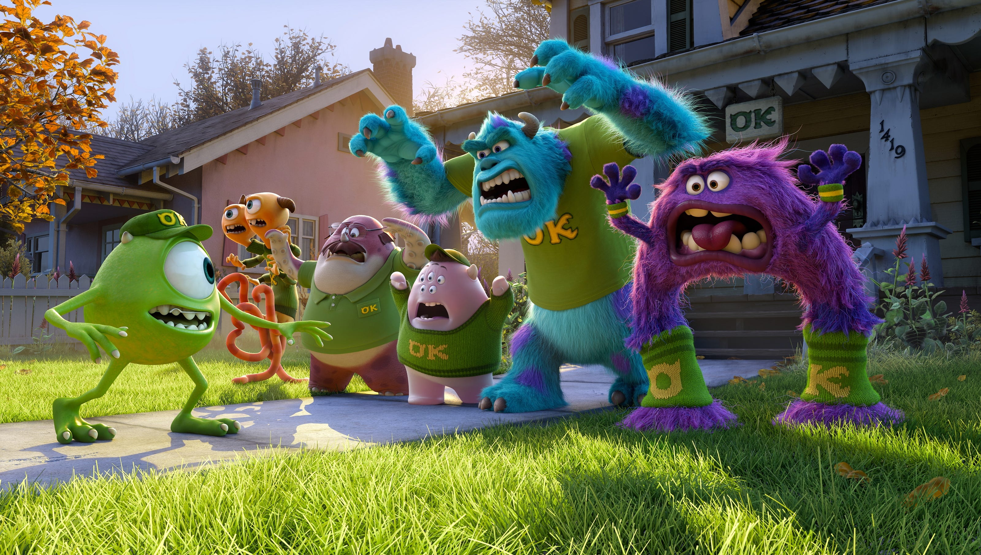 Monsters University' pledges to be true to frat life