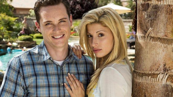 "Jesse Lee Soffer stars as Travis Alexander and Tania Raymonde as Jodi Arias in the Lifetime original movie ""Jodi Arias: Dirty Little Secret.""  Credit: Mark Fellman/Lifetime."