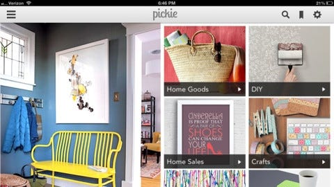 Pickie is part catalog, part magazine.
