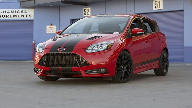 Shelby American adds handling and performance upgrades to Ford models, such as this Focus ST.
