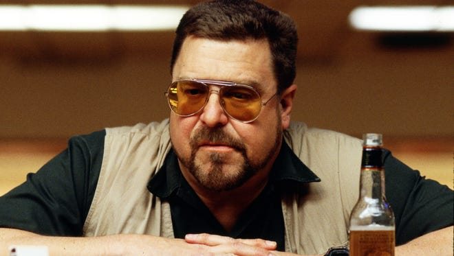 John Goodman as Walter in the Coen Brothers' 'The Big Lebowski,' one of the actor's iconic roles. Goodman reunites with the brothers this winter for 'Inside Llewyn Davis.'