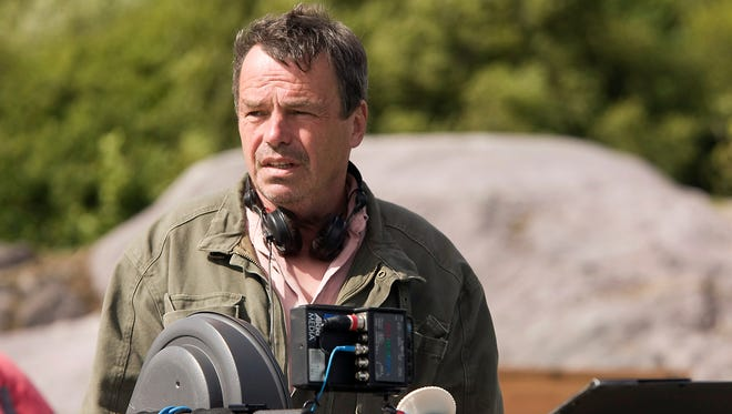 Director Neil Jordan on the set the motion picture 'Ondine.' Jordan, who directed the 1994 adaptation of Anne Rice's 'Interview with a Vampire,' returns to the undead subject matter with his new film 'Byzantium'