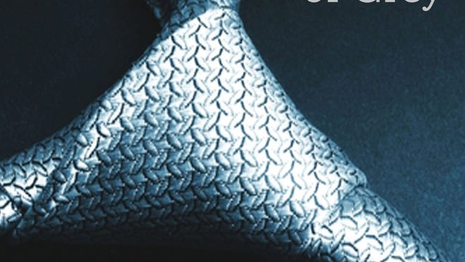 Book jacket of 'Fifty Shades of Grey' by E.L .James
