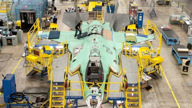 Lockheed Martin Aeronautics in Fort Worth, Texas, is the home of the F-35 Lightning II, where more than half the 14,000 employees support the Program.