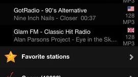 "A screenshot of ""Audials Radio"""