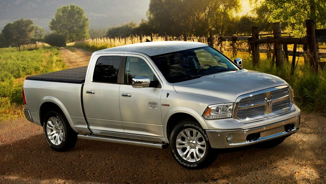 Chrysler's Ram 1500 standard-duty pickup offers a diesel for 2014, priced $2,850 mopre than the similarly equipped model with Hemi gasoline V-8.