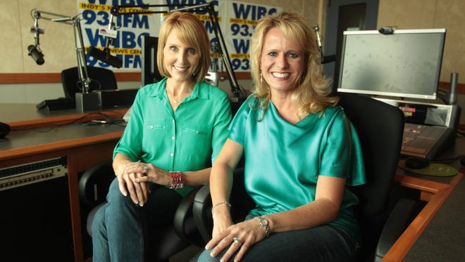 Amy Jo Clark, left, and Miriam Weaver say they represent the feminist face of a new GOP.