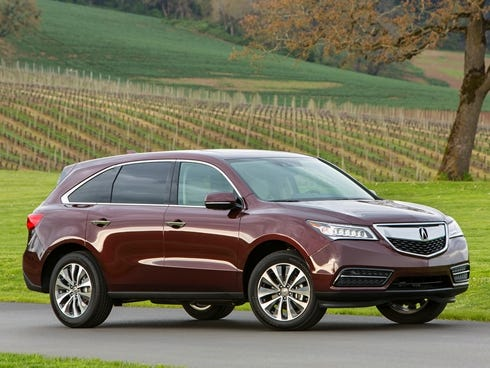 Acura  2001 on Acura S All New 2014 Mdx Gets First Front Drive Models   The Courier