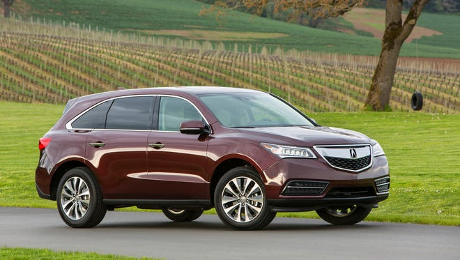 Acura's 2014 MDX seven-passenger crossover SUV offers a lower-price front-wheel-drive model for the first time.