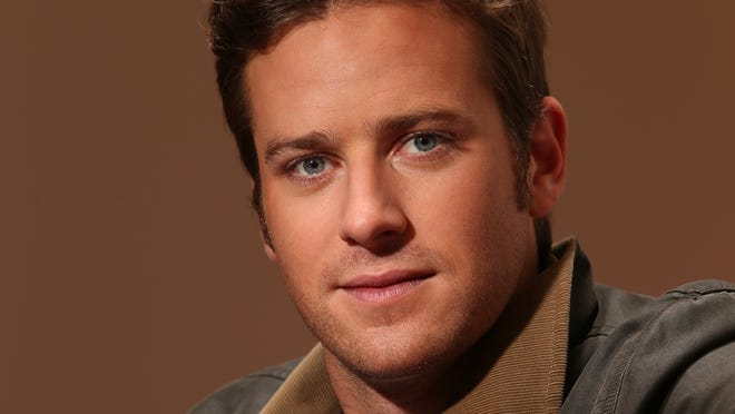 Armie Hammer is prepared to ride into stardom with his latest role as the title hero of 'The Lone Ranger.'