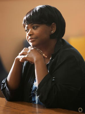 Octavia Spencer as Wanda, mother of Oscar Grant the 22-year-old shot to death by San Francisco-area transit police in 2009, in  'Fruitvale Station,' the film based on the true event.
