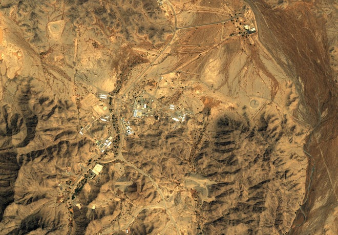 Satellite imagery over this Al Watah DF-3 complex on March 21, 2013, reveals details of a previously undisclosed surface-to-surface missile facility within Saudi Arabia.