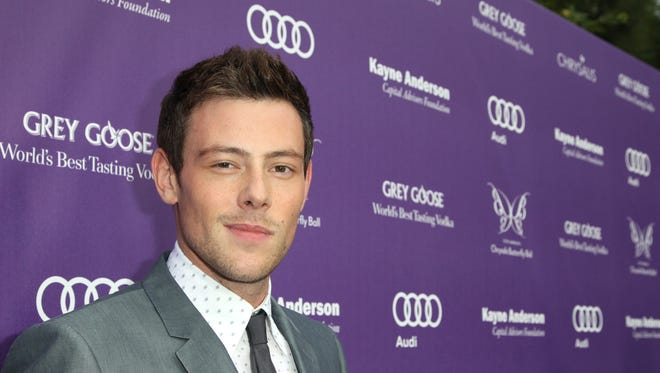 Cory Monteith arrives at the 12th Annual Chrysalis Butterfly Ball June 8 in Los Angeles. A July 16 coroner's report said the actor died from an overdose of heroin and alcohol.