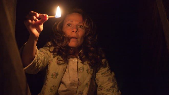 Lili Taylor stars in the box office winning horror story, 'The Conjuring,' which is said to be based on a true story.