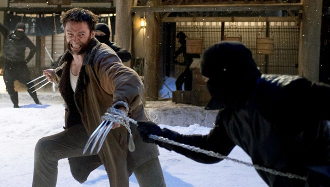 Logan (Hugh Jackman) heads to Japan for a shot to cure his mutation in 'The Wolverine.'