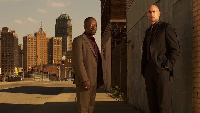 'Walking Dead's Lennie James, left, is back on AMC in Detroit crime series 'Low Winter Sun,' along with Mark Strong as Frank Agnew (Mark Strong).