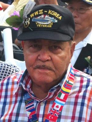 Victor Vargas, 90, from Barranquitas, Puerto Rico. He served in Korea 1950-51.