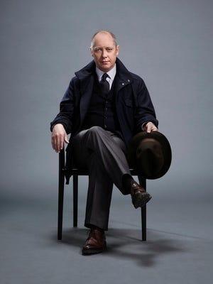 "James Spader plays ""Red"" Raymond Reddington on NBC's 'The Blacklist.'"