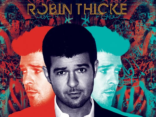 Robin Thicke, 'Blurred Lines' album