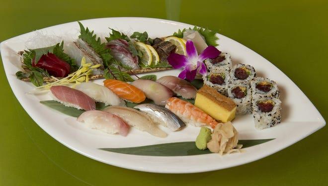 Sushi is often seen as a work of art.