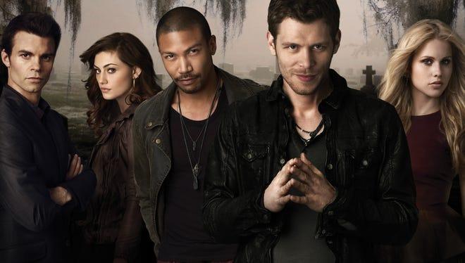 'The Originals' cast, from left: Daniel Gillies, Phoebe Tonkin, Charles Michael Davis and  Joseph Morgan.