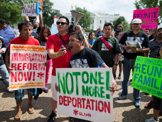 immigration rally