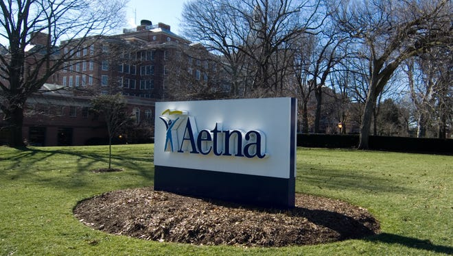 Hartford, Conn.-based Aetna said it is pulling out of the stat'es health exchange.