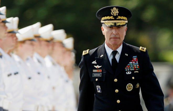 Army Lt. Gen. David Huntoon is superintendent of West Point.
