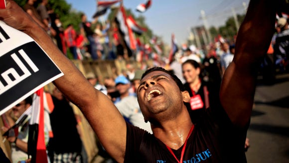 Egyptian tensions