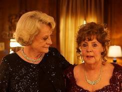 Maggie Smith, left, and Pauline Collins are retired opera divas in 'Quartet,' which premiered at the Toronto International Film Festival.