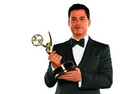 Jimmy Kimmel will host the 64th Primetime Emmy Awards on Sunday on ABC.
