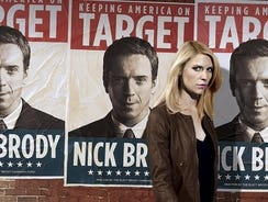 Claire Danes is back on the case as Carrie Mathison in 'Homeland.'