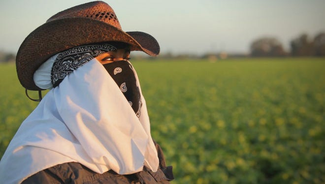 """Maricruz Ladino of Salinas, Calif., whose story is featured in """"Rape in the Fields,"""" is one of many women who say they have been sexually assaulted while working in America's fields, farms and factories."""
