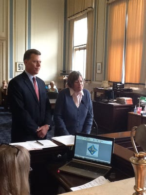 Marguerite Kloos, 54, pleaded guilty in Hamilton County Court on Tuesday, April 16, 2013, to illegal voting.