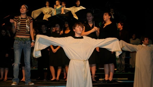 """In 2006, Valley High School in West Des Moines, Iowa, produced """"The Laramie Project"""" with Rob Todd in a a leading role."""