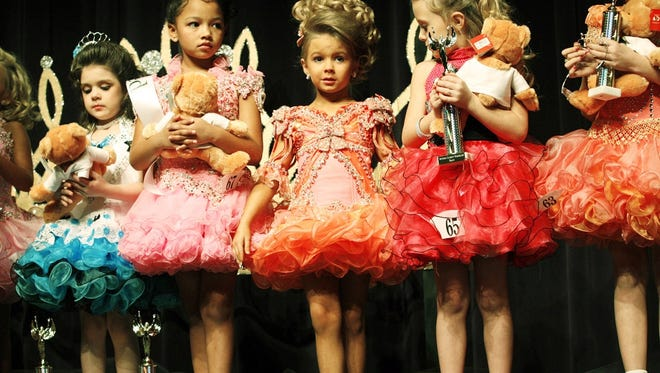 The Southern Celebrity Beauty pageant in Charleston, W.Va., in 2008.