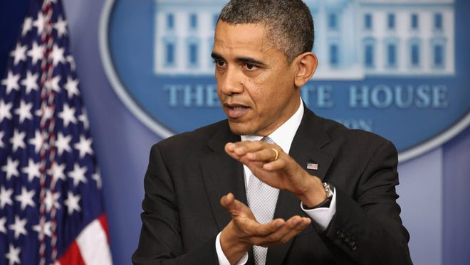 President Obama speaks at a news conference Dec. 19 in Washington, D.C.