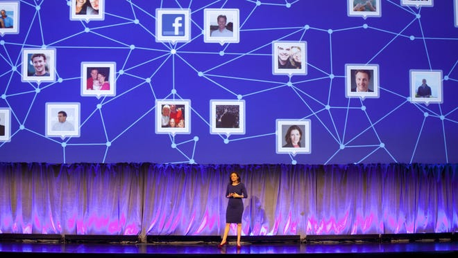 Sheryl Sandberg, Chief Operating Officer of Facebook, speaks in New York last year about social networking and social media.