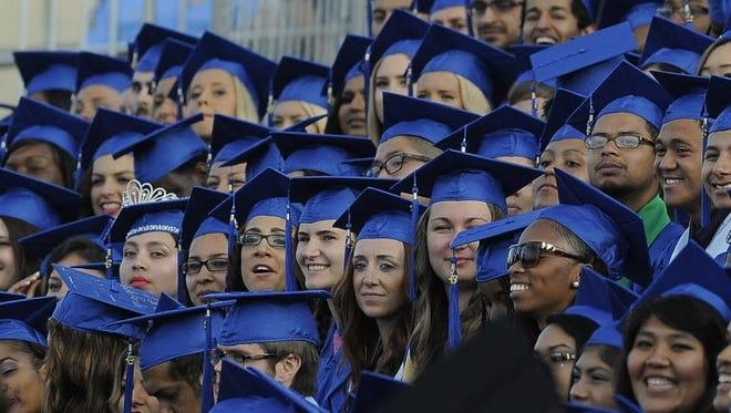 Santa Monica College graduates.